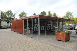 The Netherlands: Multifunctional shelter for Rabobank