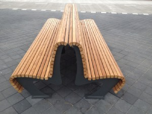 Benches for Schiphol Airport