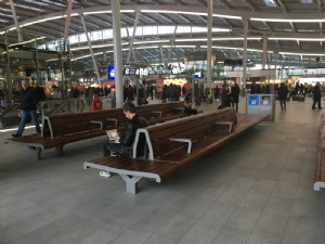 Seats for Utrecht Central Station